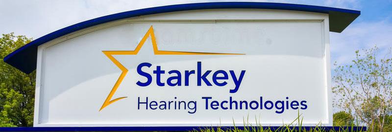 рекламный щит Starkey