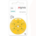 батарейки № 10 Signia
