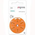 батарейки № 13 Signia