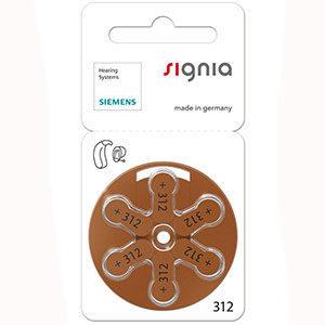 батарейки № 312 Signia